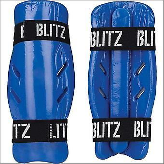 Blitz sport gedimde Foam Shin Guard-blauw