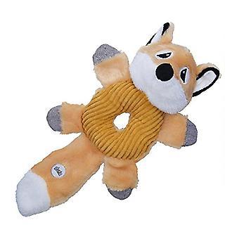 Gloria Donut gevormde Fox piepend pluche hond speelgoed