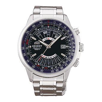 Orient Multi Year Calendário Automático FEU07008DX Relógio masculino