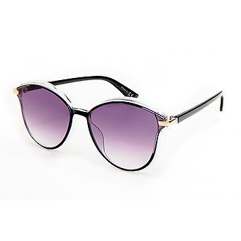 Sonnenbrille Damen    Schmetterling schwarz/violett (20-039)