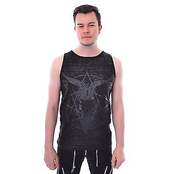 Harteloos - pentagram vest - zwart