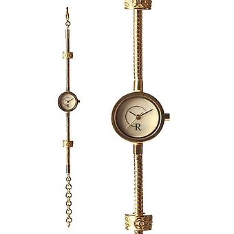 RACHEL GALLEY Mother of Pearl Japanese Movement Gold Plated Silver Timepiece