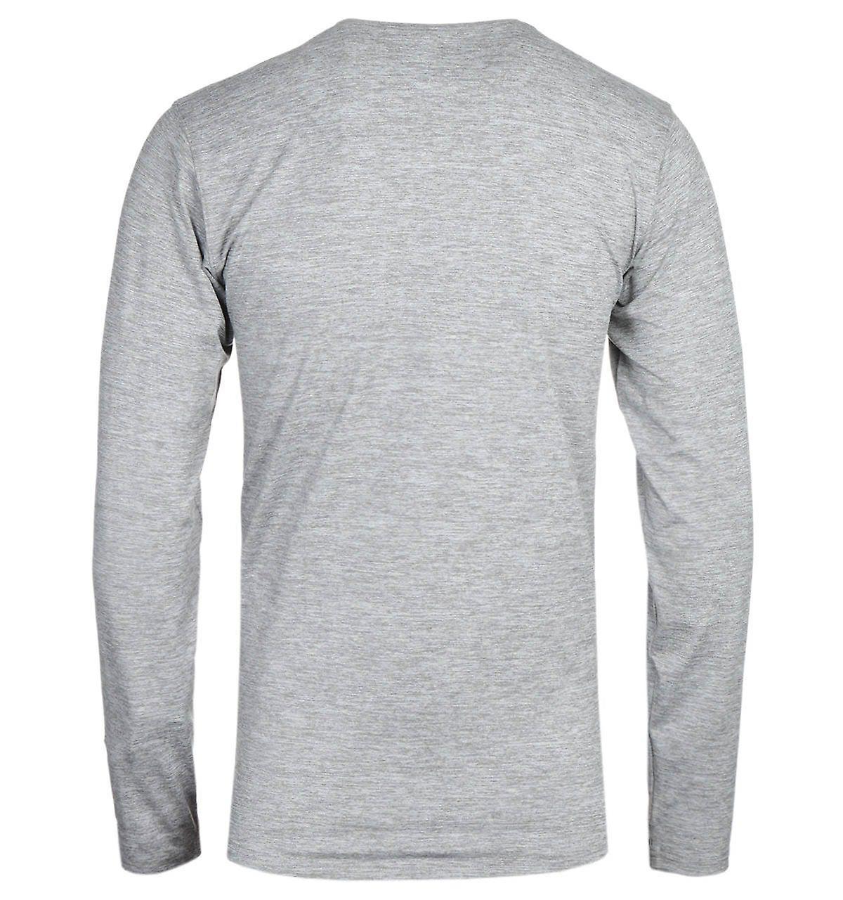 Columbia Tech Trail Grey Heather Long Sleeve T-Shirt