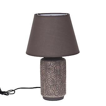 Lamptafel bruin keramische H40 cm