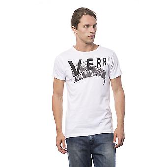 Verri Men's Bianco T-Shirt VE681327