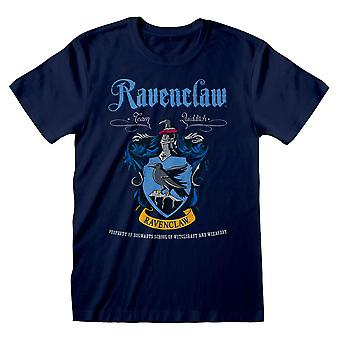 Harry Potter Ravenclaw Crest Équipe Quidditch T-Shirt Unisex Large Bleu