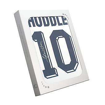 غلين هودل وقع توتنهام هوتسبر 1986 قميص. رقم 10 في صندوق الهدايا