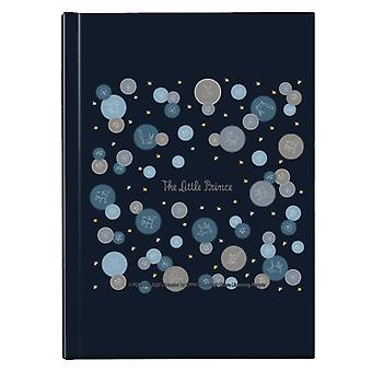 Den lille prins får ræv & stjerne mønster Hardback Journal