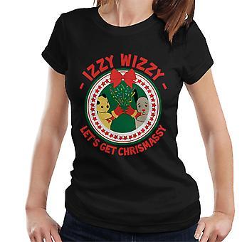 Noe Christmas Lets Get Chrismassy Women's T-paita