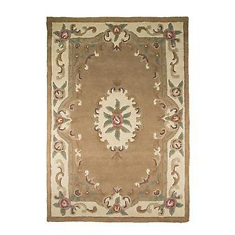 Lotus Premium Aubusson tæppe-rektangulær-fawn