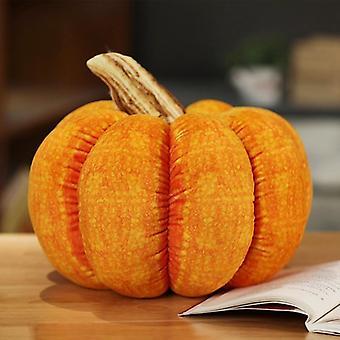 Pumpkin Shape Stuffed Soft Toy For Halloween/ Christmas (25/30cm)