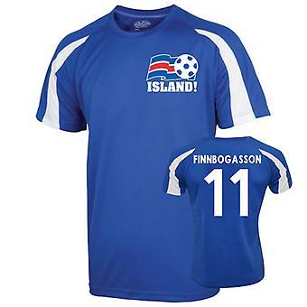 2016-17 Iceland Sports Training Jersey (Finboggasson 11) - Kids