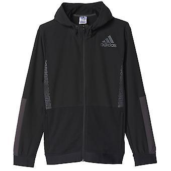 Adidas Workout Full Zip Hood M AZ1290 universal all year men sweatshirts
