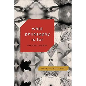 What Philosophy Is For