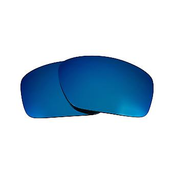 Replacement Lenses for Oakley Scalpel Sunglasses Anti-Scratch Blue Mirror