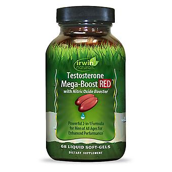 Irwin Naturals Testosterone Mega-Boost RED (68 Softgels)