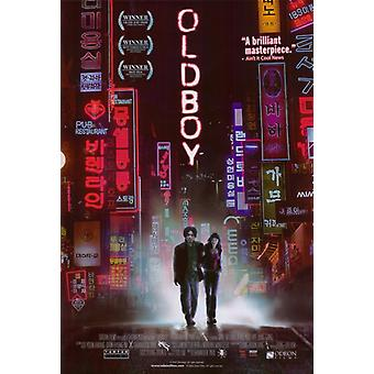 Oldboy 映画ポスター印刷 (27 × 40)