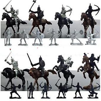 Cavaleiros Medievais Figuras Playset