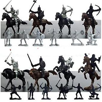 Medieval Knights Soldiers Figures Playset