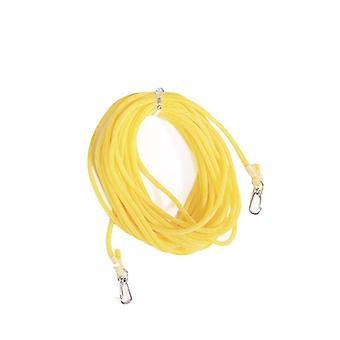 Fishing Pole Rope Protection Elastic Rubber Safety Hose Anti-winding Line Hooks