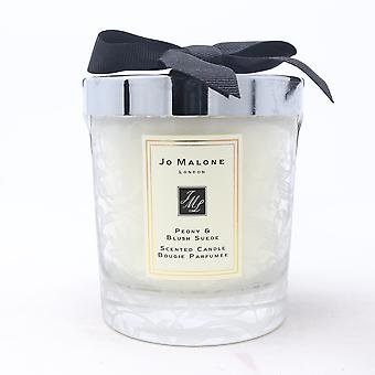 Jo Malone Peony & Blush Suede Scented Candle With Lace Design 7.0oz  New With Box