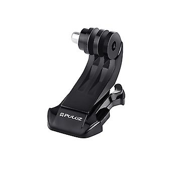 PULUZ Black Vertical Surface J-Hook Buckle Mount for GoPro HERO9 Black / HERO8 Black / HERO7 /6 /5 /5 Session /4 Session /4 /3+ /3 /2 /1, Xiaoyi and O