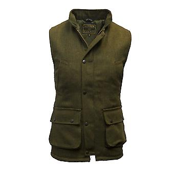 Walker and Hawkes - Mens Tweed Country Gilet