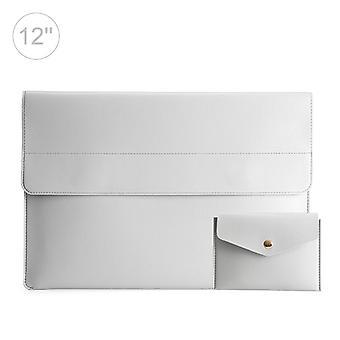 12 Zoll POFOKO leichte wasserdichte Laptop Schutztasche (hellgrau)