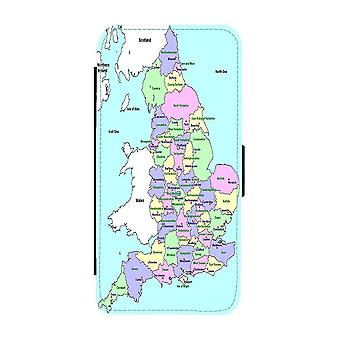 Map of UK iPhone 12 / iPhone 12 Pro Wallet Case