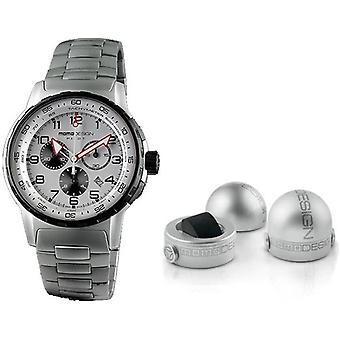 Momo design watch pilot pro chrono quarzo md2164ss-30