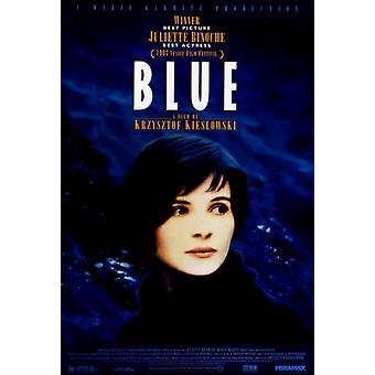 Trois Couleurs Bleu film affisch Skriv (27 x 40)