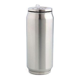 Travel thermos flask Quid Stainless steel 0,38 L