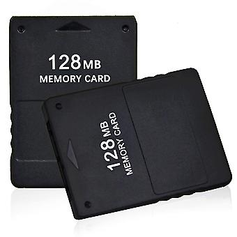 2x 128MB Memory Card for PlayStation 2 PS2