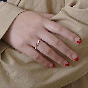 Vintage Floral Crystal Rings Rhinestone Wedding Engagement Fashion Finger