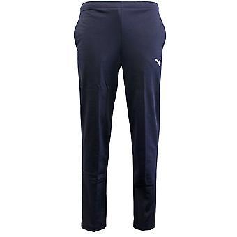 Puma Essential Navy Mens Elasticized Waist Track Pants Bottoms 825883 40 X43A