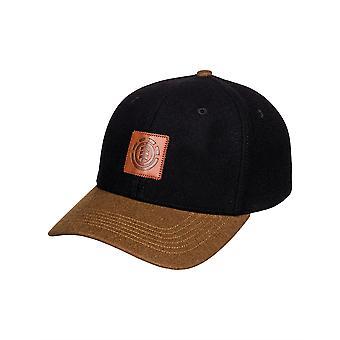 Element Men's Snapback Cap ~ Treelogo black