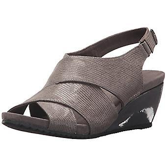 Anne Klein Womens Carolyn Open Toe Casual Platform Sandals