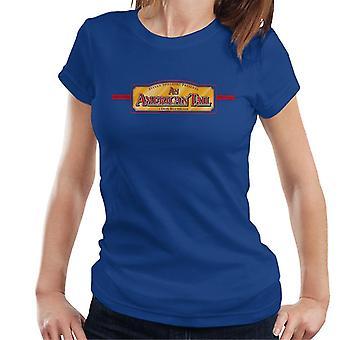 Amerikkalainen häntä Don Bluth Film Logo Women's T-paita