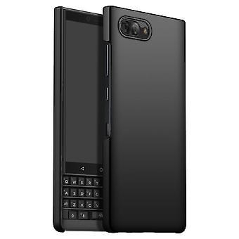 Schokbestendige hardcasecover voor Blackberry KEY 2 LE - Zwart