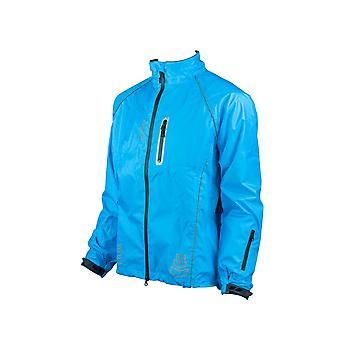 Eigo Delta-2 vízálló kerékpáros kabát cián