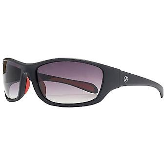 Freedom Oval Wrap Sunglasses - Matte Black