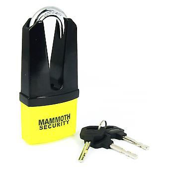 Mammoth Maxi Shackle Disc Lock With 11mm Pin