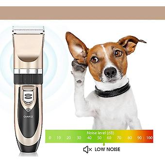 Dog Rechargeable Electric Quiet Hair Clippers 8 Sets