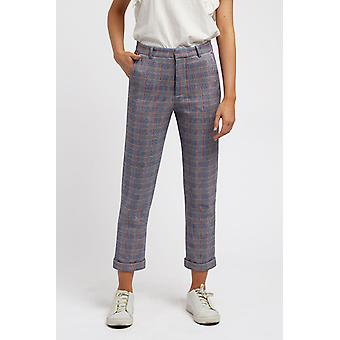 Louche Womens Jaylo Bonnie Check Trouser Multi