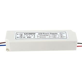 IP67 80W AC100-264V til DC12V Bytte strømforsyning Driver Adapter