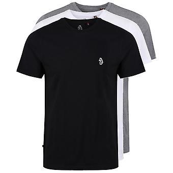 Luke 1977 Johnys 3 Pack T-Shirts Black 42