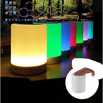 3w Bluetooth-luidspreker met touch control kleur en led-nachtlamp