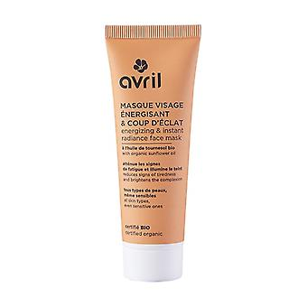 Energizing and radiant face mask - certified organic 50 ml of cream