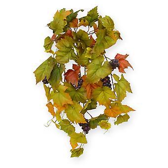 Uva de outono de planta artificial 75 cm
