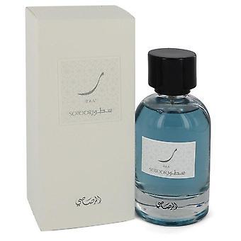 Sotoor Raa Eau De Parfum Spray By Rasasi 3.33 oz Eau De Parfum Spray